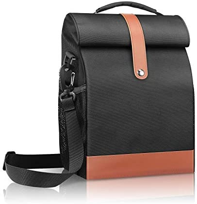 SITHON Reusable Lunch Bag Cooler Tote Box Waterproof and Insulated Interior Stain Resistant product image