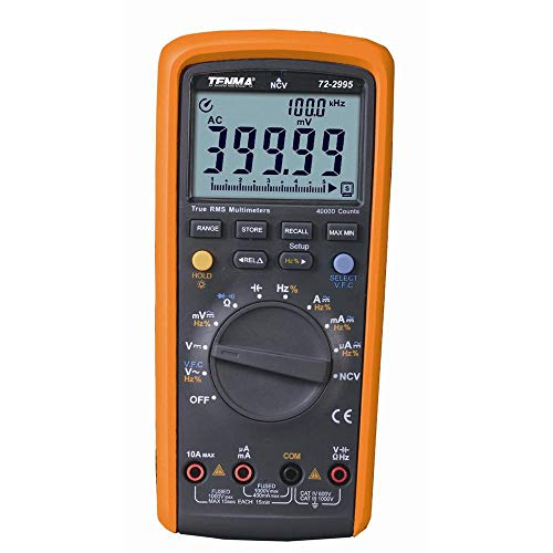 Why Choose 72-2995 - Handheld Digital Multimeter, AC/DC Current, AC/DC Voltage, Capacitance, Resista...