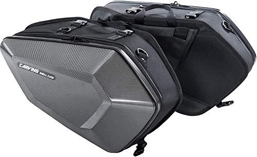 タナックス(TANAX) MOTOFIZZ サイドバッグ カービングシェルケース カーボン柄 片側16L MFK-272