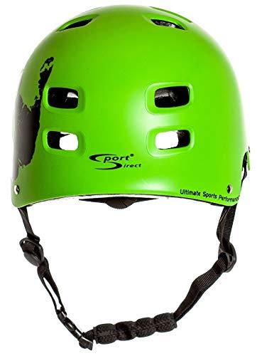 Sport DirectTM BMX-Skate Helm grün 55-58cm CE EN1078:2012+A1:2012 - 3