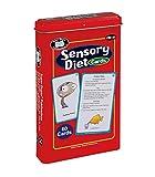 Super Duper Publications | Sensory Diet Flash Cards | Behavior and Body Awareness Fun Deck | Regulate Emotions | Materials for Children