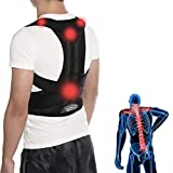 ZSZBACE Different Sizes Back Brace Posture Support Belt- Hunchback Posture Corrector for Men and Women- Relieve Lower Back Pain (L)