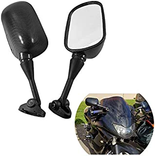 Adjustable Hole Distance 1.2 to 1.8 Adjustable Hole Distance 1.2 to 1.8 LeaningTech Heavy Duty Motorcycle Rear View Side Mirrors for HONDA CBR 600 F4 F4I
