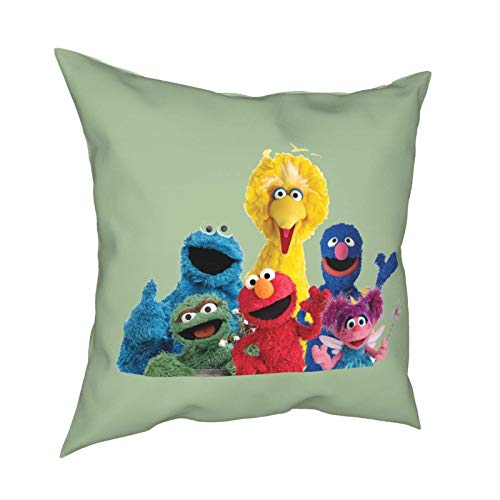 Jupsero taie d'oreiller Jupsero taie d'oreiller Covers Se-Sa-Me Cute Street Cushion Covers Pillowcase Home Decorations for Sofa Couch Bed Chair 16\