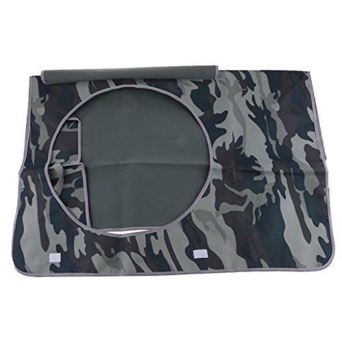 Klimaanlage Staubdichte Waschbare Abdeckung Schutzhülle Cover - Graue Tarnung, 78x55x28cm