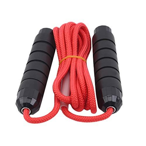 Toporchid Springseil für Fitness Längenverstellbare Länge Geflochtenes Seil Springseil Unisex Fitness Abnehmen Springseil (Style1)