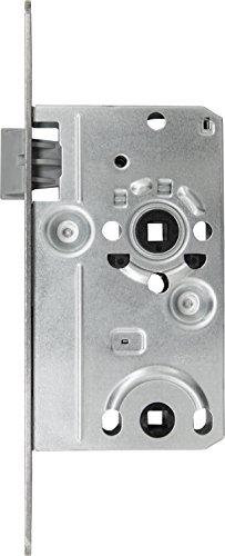 ABUS 20831 Tür-Einsteckschloss TKB10 L S, für DIN-links Türen, silber