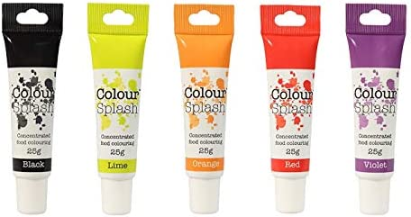 Colour Splash Gels Pack of 5 - Unicorn Set