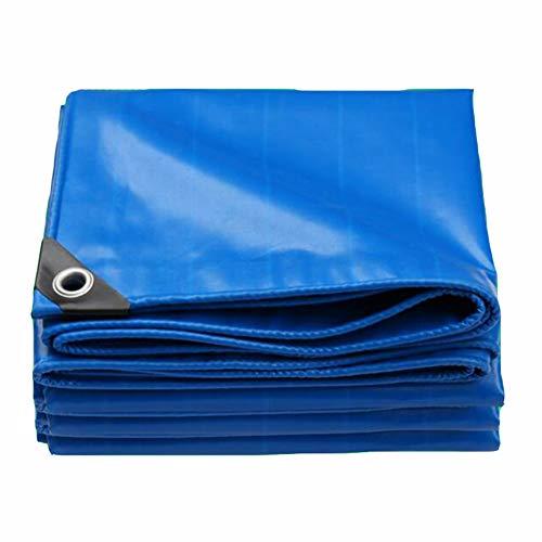 Dall bâche Épaissir Bâche Tissu Anti-Pluie Étanche À La Poussière Différentes Tailles Antigel (Couleur : Bleu, Taille : 2×4m)