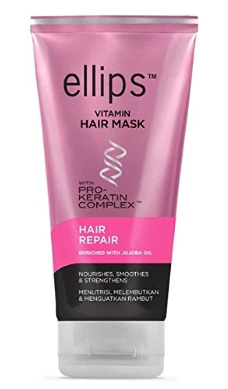 画面批評正確なEllips 髪のマスク(プロケラチン) - 髪の修復、120 ml(1パック)