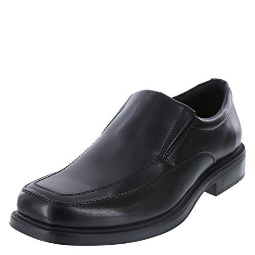 Hunter's Bay Black Men's Spencer Slip-On Dress 10 Regular