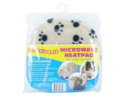 Snugglesafe Lot de 4 coussins chauffants pour micro-ondes Motif petit animal