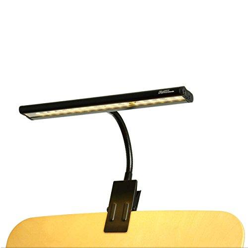 RATstands Notenpultleuchte Apollo Light, Klemmleuchte für Notenständer aus Stahl und Aluminium (Lampe, Beleuchtung, Licht)
