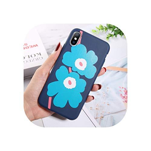 Moskado Bloemen Telefoonhoesje Voor Iphone 11 Pro X Xr Xs Max 7 8 6 6S Plus 5 5S Se Chrysant Bloemen Zachte Tpu Siliconen Back Cover, For iPhone 11 Pro, 7657
