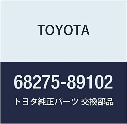Genuine Toyota 68275-89102 Door Glass Run Limited Brand Cheap Sale Venue time trial price