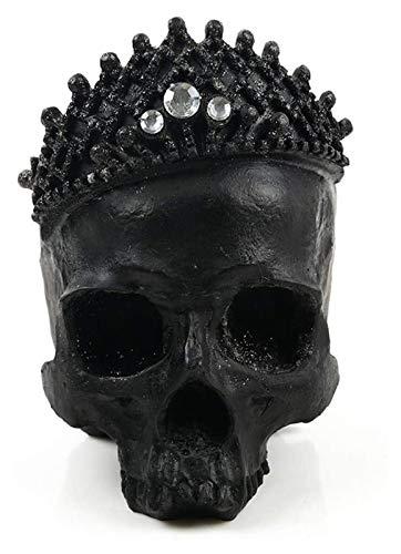 GAOYINMEI Schreibtisch-Skulptur, Skulptur, Totenkopf, Statue, menschlicher Kopf, Modell, Kunstharz, Skulptur, Heimdekoration, Ornamente, Lebensgröße, Basteln, Dekoration, Zubehör, Figuren