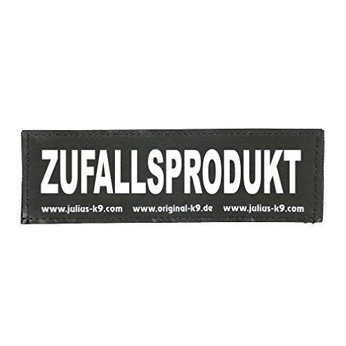 Julius-K9 162LR-K-31246 Klettaufschrift, ZUFALLSPRODUKT, klein, schwarz