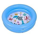 seraphicar - Mini piscina hinchable para bebés suave, resistente al desgaste, con base gruesa de burbujas, juguete para niños pequeños