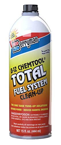Berryman 2616 B-12 Chemtool Total Fuel System Clean-Up Easy Pour-in Metal Can, 15-Ounce, Fluid