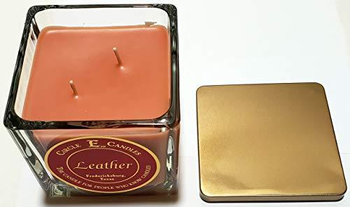 Circle E 22oz Leather Candle