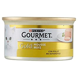 Gourmet Gold, Food for Cats, Mousse with Chicken – 85 g