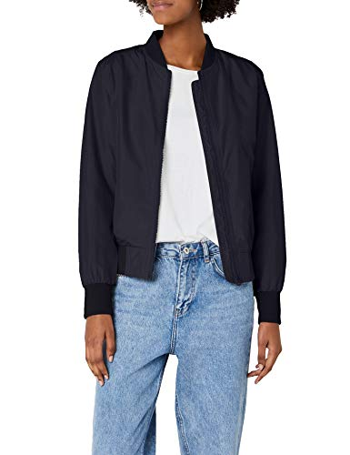 Urban Classics TB1217 Damen Jacke Ladies Light Bomber Jacket, Blau (Navy 155), Medium