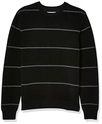 Black and White Sweater Men