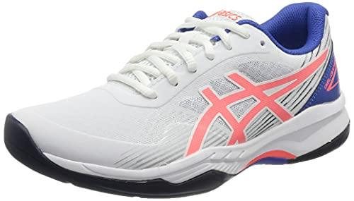 ASICS Gel-Game 8, Scarpe da Tennis Donna, White/Blazing Coral, 39 EU
