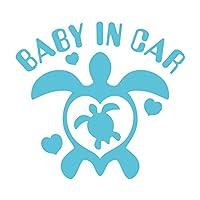 imoninn BABY in car ステッカー 【パッケージ版】 No.07 ホヌさん (水色)
