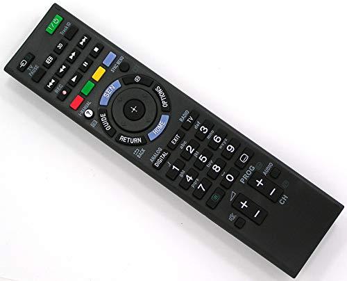Ersatz Fernbedienung for Sony TV KDL-50W656A KDL-50W685 KDL-50W685A KDL-50W705B KDL-50W706B KDL-50W790