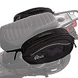 Prima Traveler Saddle Bag (Black); Universal