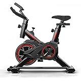 [LIRENSIGE]ジム用フィットネスバイク 摩擦式 サドル ハンドル調節可 液晶メーター 多機能 室内運動 筋トレ 男女兼用