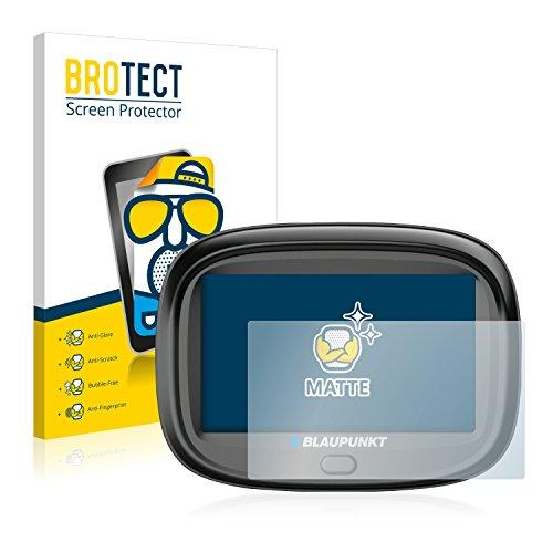 BROTECT 2X Entspiegelungs-Schutzfolie kompatibel mit Blaupunkt MotoPilot 43 EU LMU Bildschirmschutz-Folie Matt, Anti-Reflex, Anti-Fingerprint