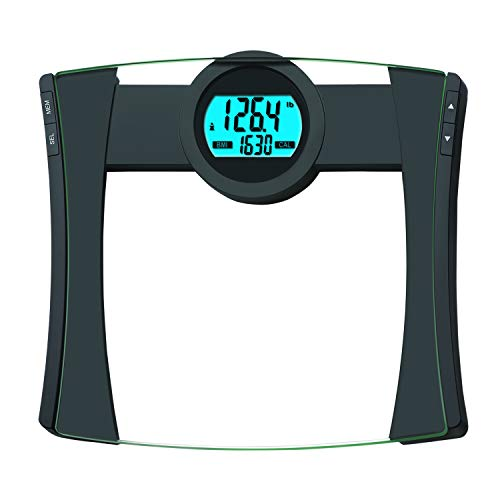 EatSmart Products Digital Body Fat Scale, 440 Pound Capacity, White/Black