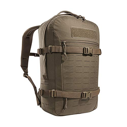 Tasmanian Tiger TT Modular Daypack XL Molle-kompatibler Tages-Rucksack mit Trinksystem-Vorbereitung 23 Liter (Coyote Brown)