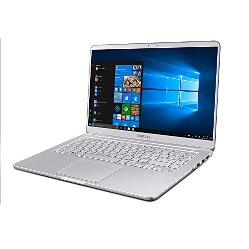 "Samsung Notebook 9 NP900X3T-K02US Traditional Laptop (Windows 10 Home, Intel Core i7, 13.3"" LCD Screen, Storage: 256 GB, RAM: 8 GB) Light Titan"