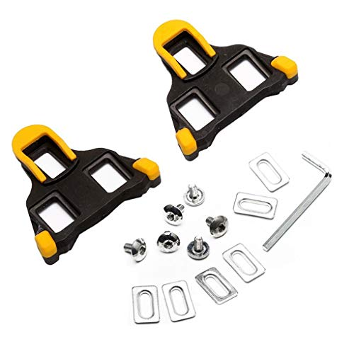Faguo Cycling Cleats SPD-SL Cleat Set Road Bicycle Pedal Cleats Dura Ace, Ultegra:SM-SH11 sh-10 sh-12