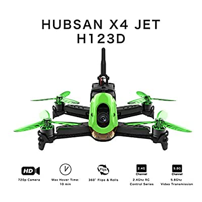 Hubsan H123D X4 Jet Racer Brushless Drone 720P Camera 2.4Ghz RC Quadcopter