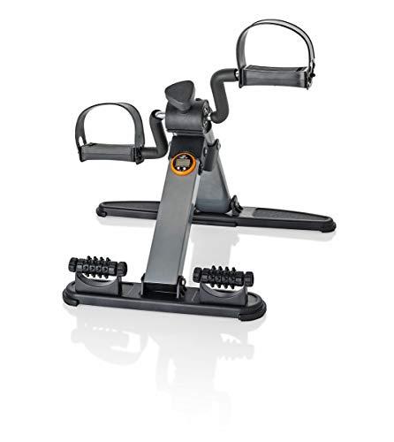 Heimtrainer Mini-Bike | Arm- und Beintrainer inklusive Trainingscomputer | Einstellbarer Widerstand | belastbar bis 100 kg