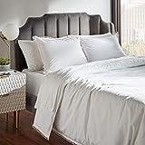 Amazon Brand – Rivet Pom-Pom Duvet Comforter Cover Set, Full / Queen, 90' x 90', Blush