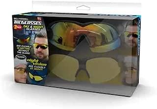 TAC GLASSES Sports Polarized Sunglasses for Men/Women As Seen On TV (Set of 2)