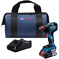 Bosch Brushless 18V Impact Driver Kit + Bosch 6.3Ah Lithium-Ion Battery