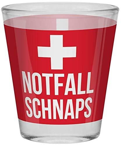 Sheepworld - 46280 - Schnapsglas, Glas, Notfall Schnaps, 6cm