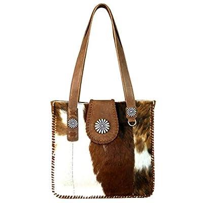 Montana West Real Leather Hobo Bag For Women Genuine Cowhide Purse Western Style Handbag