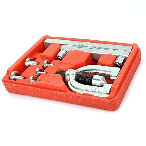 Rohrverbreiterungswerkzeugsatz Rohrrohrverbreiterungswerkzeug Doppelbolzen Rohrwerkzeugsatz für die Klimaanlage eines Kühlschranks