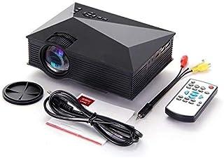 Unic UC68 Multimedia Home Theatre 1800 Lumens LED Projector HD 1080p Black