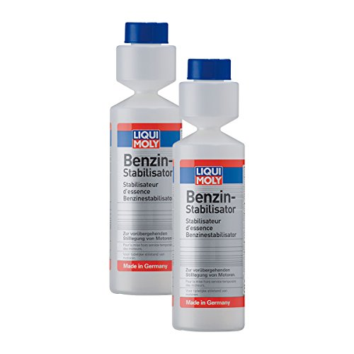 2x LIQUI MOLY 5107 Benzin-Stabilisator Additiv 250ml