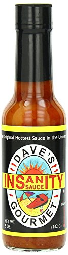Dave's Original Insanity Hot Sauce, 5 Ounces