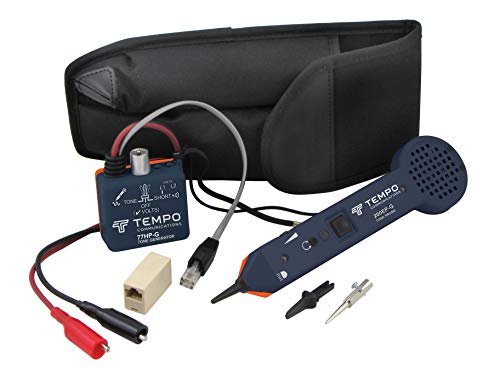 Tempo Communications 701K-G Tone Generator and Probe Kit - Professional Wire Tracing Kit (Latest Model)