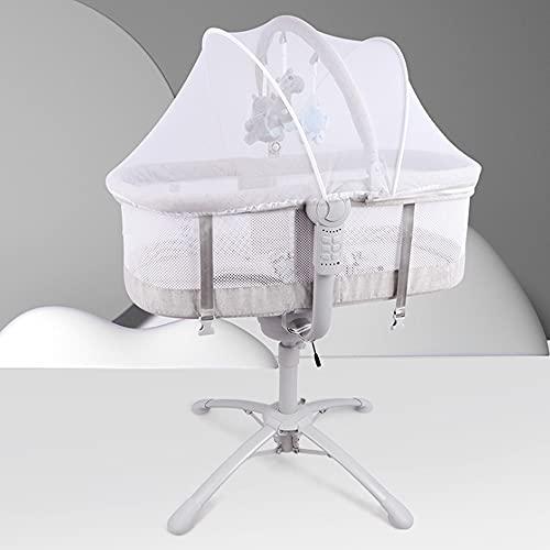 Silla de bebé eléctrica portátil,3 en 1 plegable mecedora